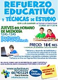 REFUERZO EDUCATIVO Y T�CNICAS DE ESTUDIO